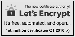Let's Encrypt - The New Certificate Authority!